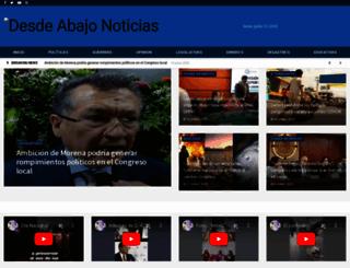 desdeabajo.com.mx screenshot