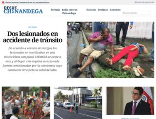 desdechinandega.com screenshot