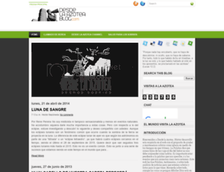 desdelaazoteas.blogspot.com screenshot