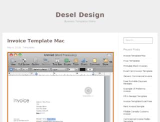 deseloper.org screenshot