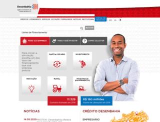 desenbahia.ba.gov.br screenshot