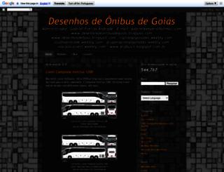 desenhosdeonibusdegoias.blogspot.com.br screenshot
