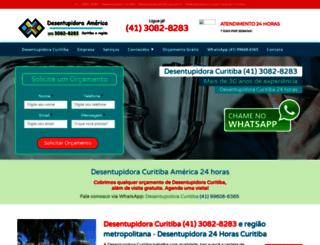 desentupidoraamerica.com.br screenshot