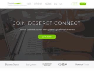 deseretconnect.com screenshot