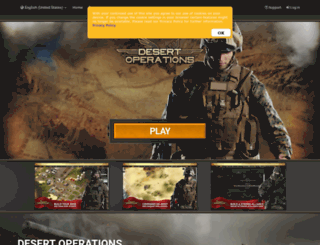 desert-operations.com screenshot
