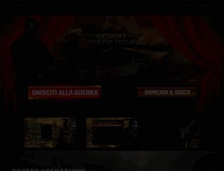 desert-operations.it screenshot