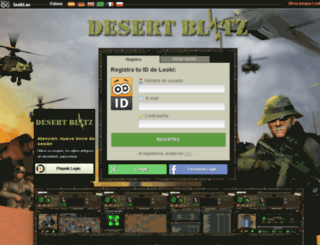 desertblitz.es screenshot