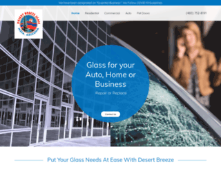 desertbreezeglass.com screenshot