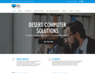 desertcomputersolutions.net screenshot
