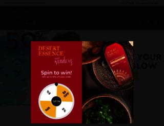 desertessence.com screenshot
