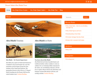 desertsafariabudhabitour.com screenshot