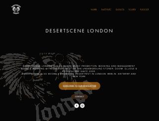 desertscene.co.uk screenshot