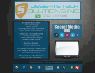 desertstech.webstarts.com screenshot