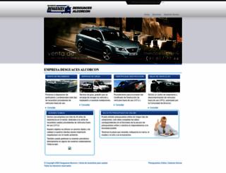 desguacesalcorcon.es screenshot