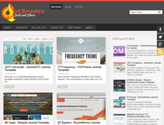 deshared.blogspot.com screenshot