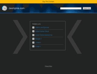 deshijinis.com screenshot