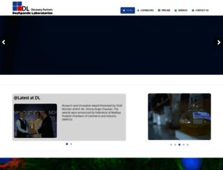 deshpandelab.com screenshot