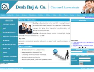 deshrajca.com screenshot