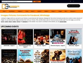 desicomments.com screenshot