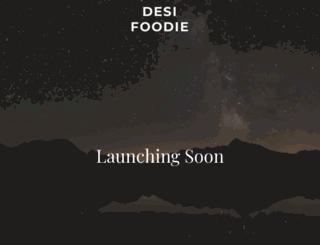desifoodie.in screenshot