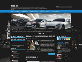 design---car.blogspot.com screenshot