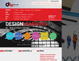 design-labschools.org screenshot