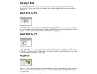 design-lib.com screenshot
