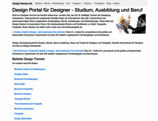 design-literatur.de screenshot