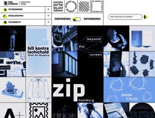 design.haw-hamburg.de screenshot