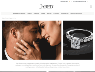design.jared-diamonds.com screenshot