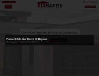 design.martindoor.com screenshot