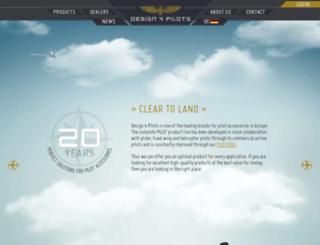 design4pilots.com screenshot
