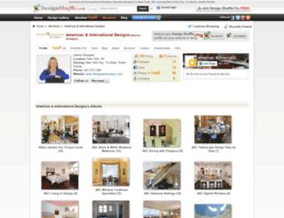 designamericanyc.designshuffle.com screenshot