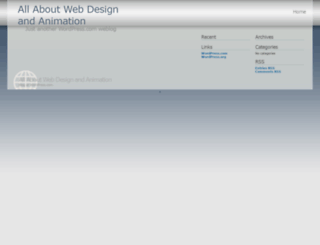 designandanimation.wordpress.com screenshot