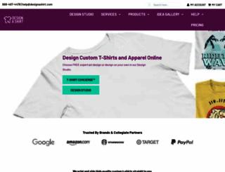 designashirt.com screenshot