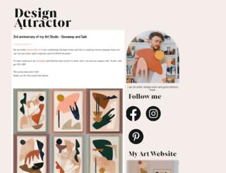 designattractor.com screenshot
