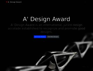 designaward.com screenshot