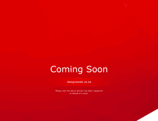 designaweb.co.za screenshot