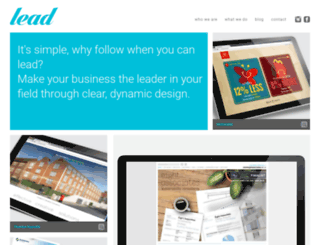 designbylead.com screenshot