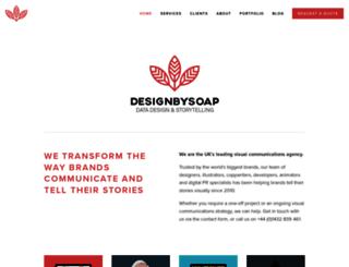 designbysoap.co.uk screenshot