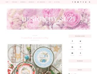 designbysuzi.blogspot.cz screenshot
