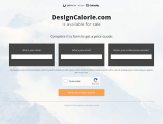 designcalorie.com screenshot