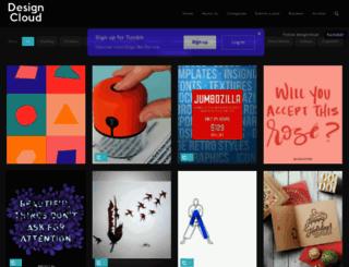 designcloud.tumblr.com screenshot