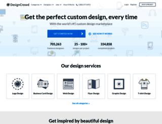 designcrowd.co.uk screenshot