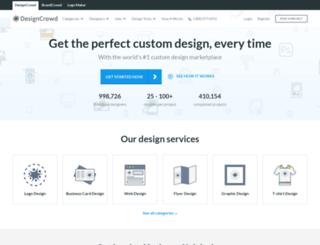 designcrowd.nl screenshot
