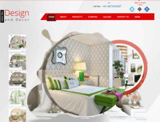 designdecorblinds.com screenshot