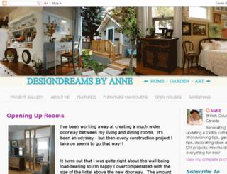 designdreamsbyanne.blogspot.com screenshot