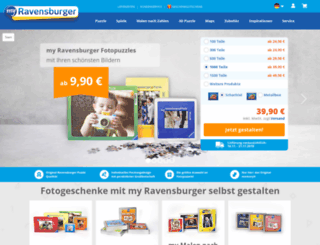 designer.myravensburger.com screenshot