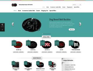 designerbeltbuckles.co.uk screenshot