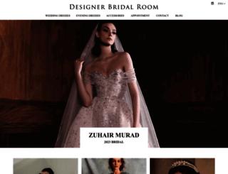 designerbridalroom.com.hk screenshot